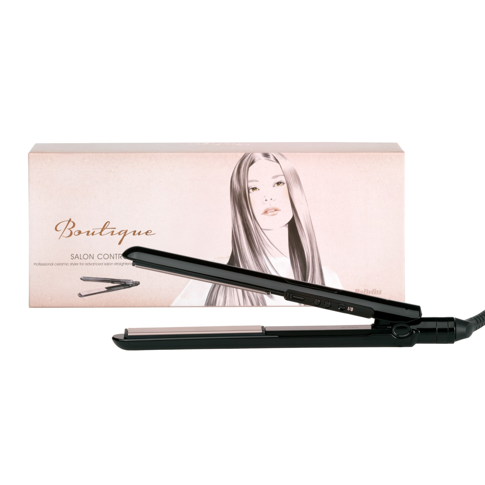BaByliss Boutique Salon Control 235 Hair Straighteners