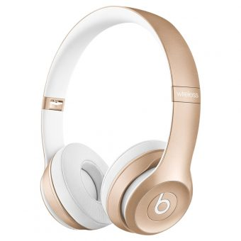 Beats™ by Dr. Dre™ Solo 2 Wireless On-Ear Headphones with Bluetooth Gold