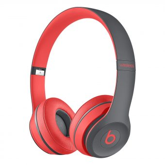 Beats™ by Dr. Dre™ Solo 2 Wireless On-Ear Headphones with Bluetooth Red