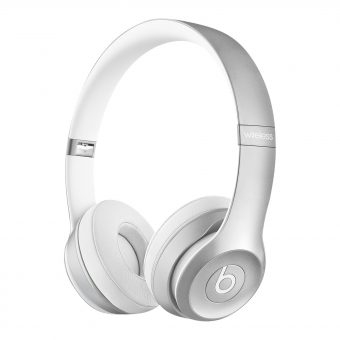 Beats™ by Dr. Dre™ Solo 2 Wireless On-Ear Headphones with Bluetooth Silver