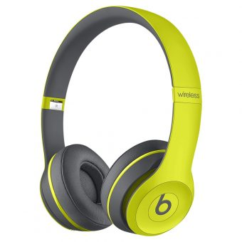 Beats™ by Dr. Dre™ Solo 2 Wireless On-Ear Headphones with Bluetooth Yellow