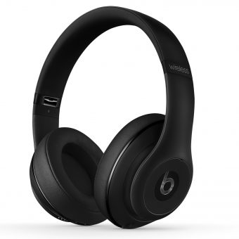 Beats™ by Dr. Dre™ Studio Noise Cancelling Full-Size Bluetooth Headphones with Mic/Remote Black
