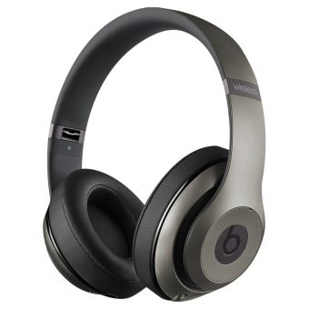 Beats™ by Dr. Dre™ Studio Noise Cancelling Full-Size Bluetooth Headphones with Mic/Remote Steel