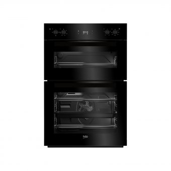 Beko BDF22300B Integrated Double Oven