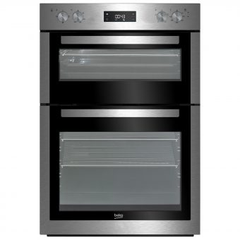 Beko BDF26300X Built In Electric Double Oven