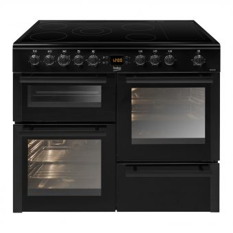 Beko BDVC100K Electric Range Cooker