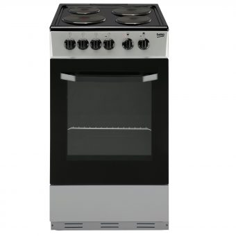 Beko BS530 Electric Cooker Silver