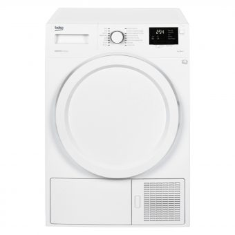 Beko DHY7340W Heat Pump Condenser Tumble Dryer