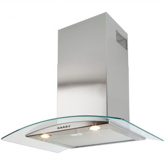 Beko HBG60X Built In Chimney Cooker Hood