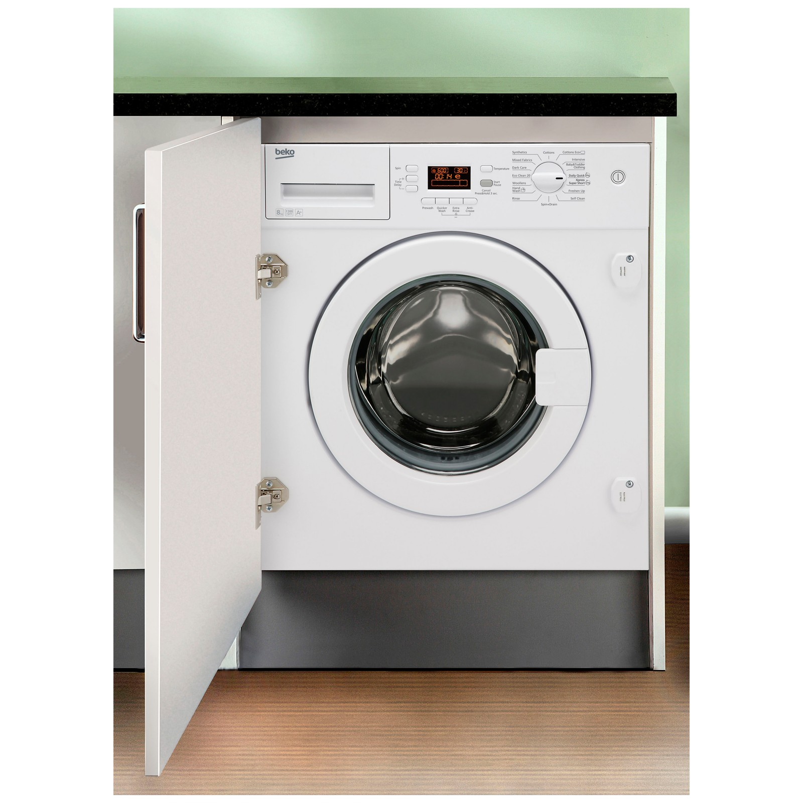 Beko WMI81341 Integrated Washing Machine