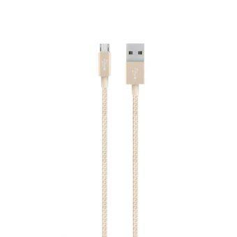 Belkin MIXIT ↑ Metallic Micro USB to USB Cable Gold