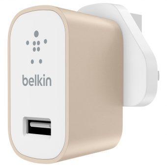 Belkin MIXIT ↑ Metallic USB Home Charger Gold