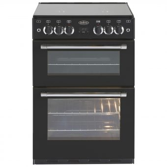 Belling Classic 60G Freestanding Gas Cooker Black