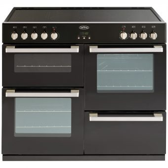 Belling DB4 100E Electric Range Cooker Black
