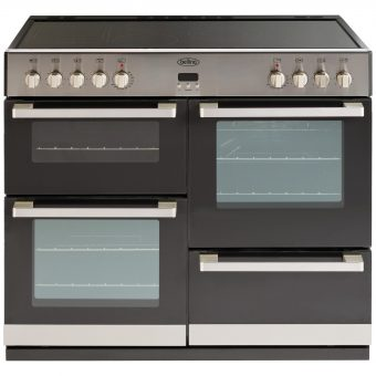 Belling DB4 100E Electric Range Cooker Stainless Steel