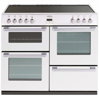 Belling DB4 100E Electric Range Cooker White