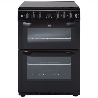 Belling FSG60DOF Freestanding Gas Cooker Black