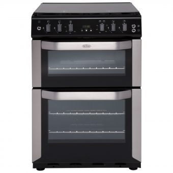 Belling FSG60DOF Freestanding Gas Cooker Stainless Steel