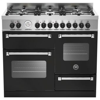 Bertazzoni MAS1006MFET Electric Dual Fuel Cooker Matt Black