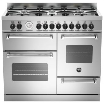 Bertazzoni MAS1006MFET Electric Dual Fuel Cooker Stainless Steel