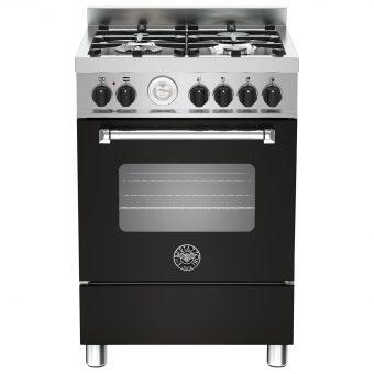 Bertazzoni MAS604MFES Dual Fuel Single Range Cooker Matt Black