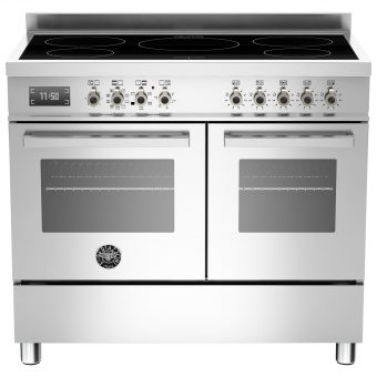 Bertazzoni Professional Series 100cm Electric Induction Range Cooker Stainless Steel