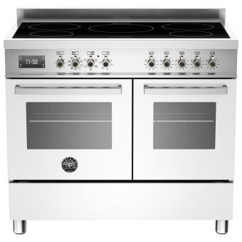 Bertazzoni Professional Series 100cm Electric Induction Range Cooker White