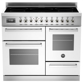 Bertazzoni Professional Series 100cm Electric Induction XG Range Cooker White