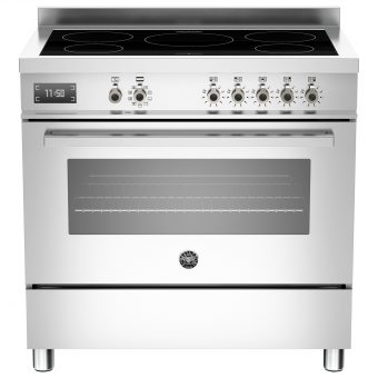 Bertazzoni Professional Series 90cm Electric Induction Single Range Cooker Stainless Steel