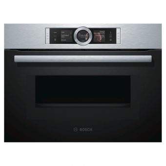 Bosch CNG6764S1B Steel Compact Pyrolytic Oven
