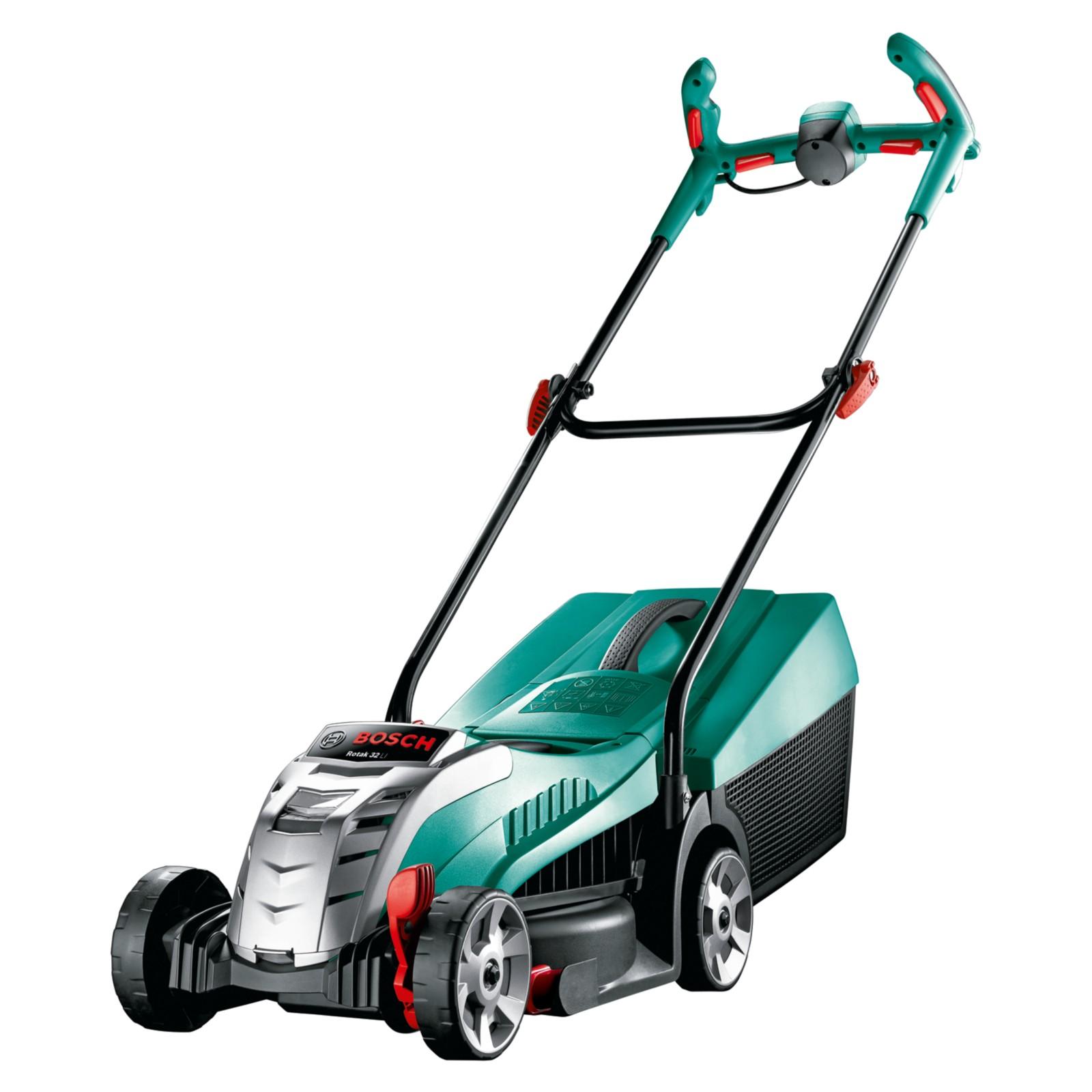 Bosch Rotak 32 LI High Power Cordless Lawnmower