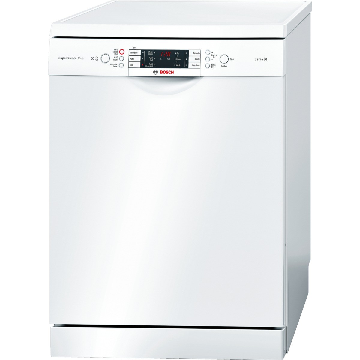 bosch sms69m12gb freestanding dishwasher white review best buy review. Black Bedroom Furniture Sets. Home Design Ideas