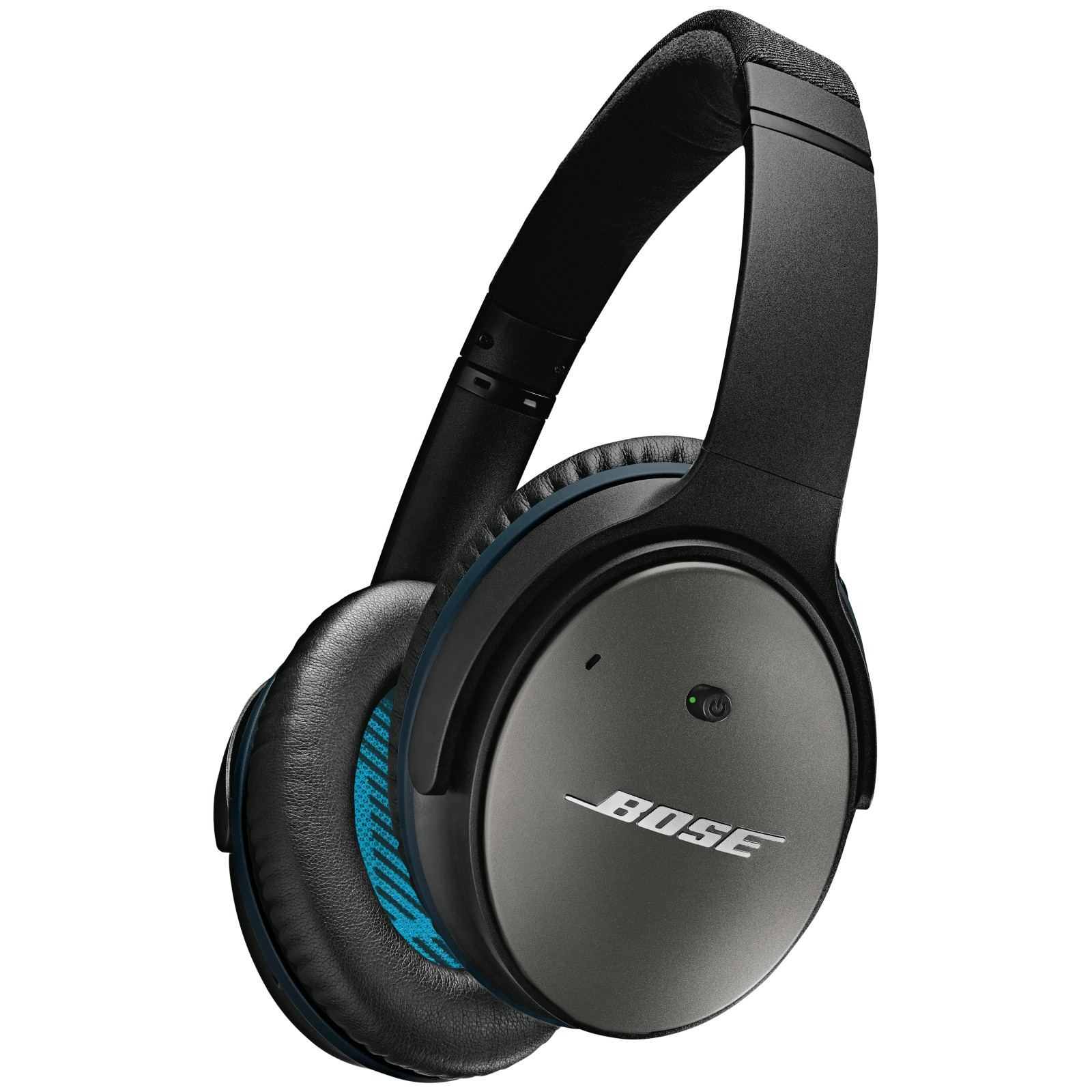 Bose® QuietComfort® Noise Cancelling® QC25 Over-Ear Headphones for Android/ Samsung Devices Black/Silver
