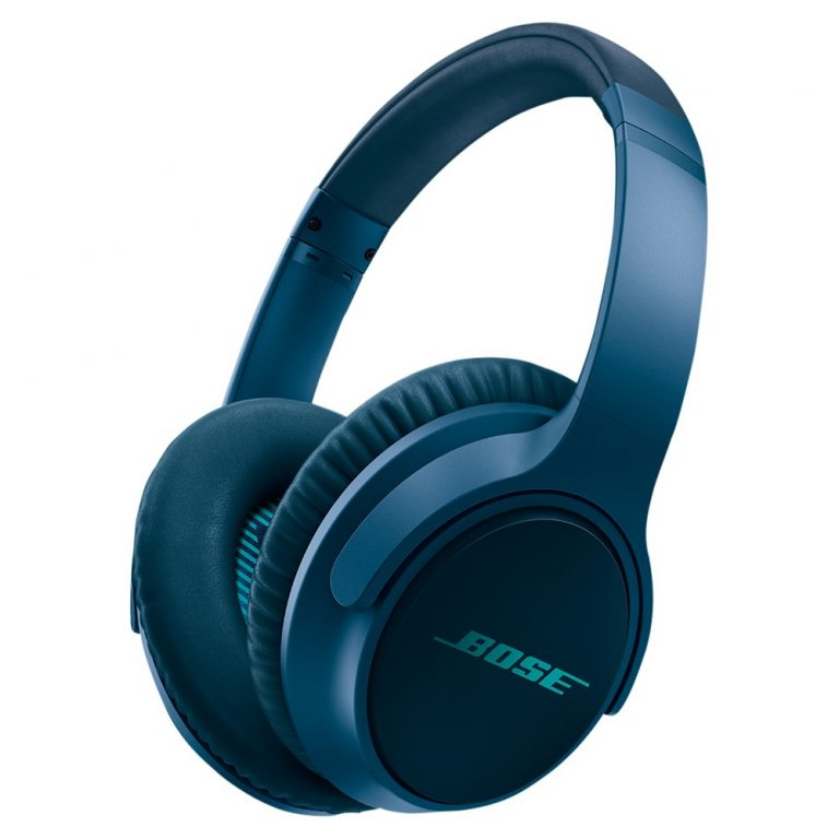 Bose® SoundTrue™ AE II Full-Size Headphones with In-Line Mic/Remote for iOS Devices Navy Blue