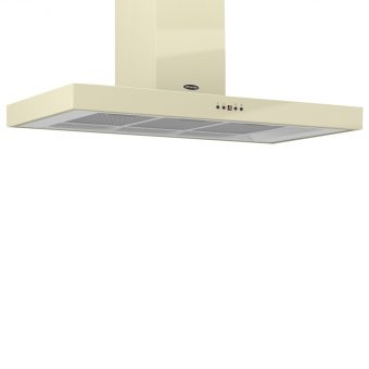 Britannia K7088A-10 Arioso Chimney Cooker Hood Gloss Cream