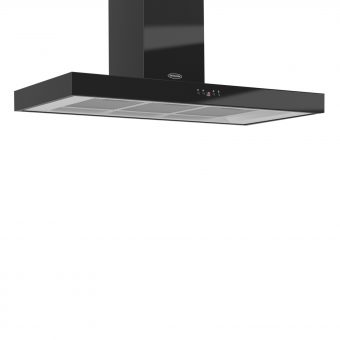Britannia K7088A-10 Arioso Chimney Cooker Hood Gloss black
