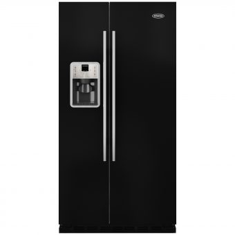 Britannia Montana American Style Fridge Freezer Gloss Black
