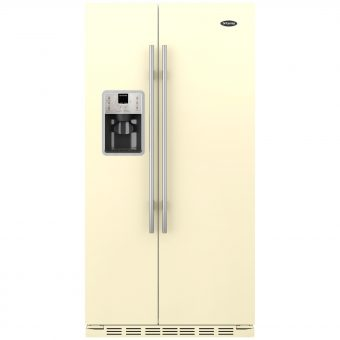 Britannia Montana American Style Fridge Freezer Gloss Cream