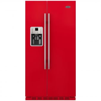 Britannia Montana American Style Fridge Freezer Gloss Red