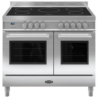 Britannia RC-10TI-QL Q-Line Induction Hob Range Cooker Stainless Steel