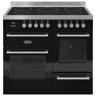 Britannia RC-10XGI-QL Q-Line Induction Hob Range Cooker Gloss Black