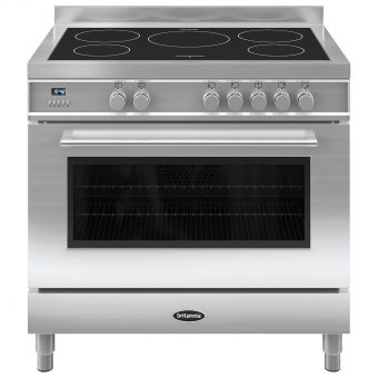 Britannia RC-9SI-QL Q-Line Induction Hob Range Cooker Stainless Steel