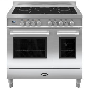 Britannia RC-9TI-QL Q-Line Induction Hob Range Cooker Stainless Steel