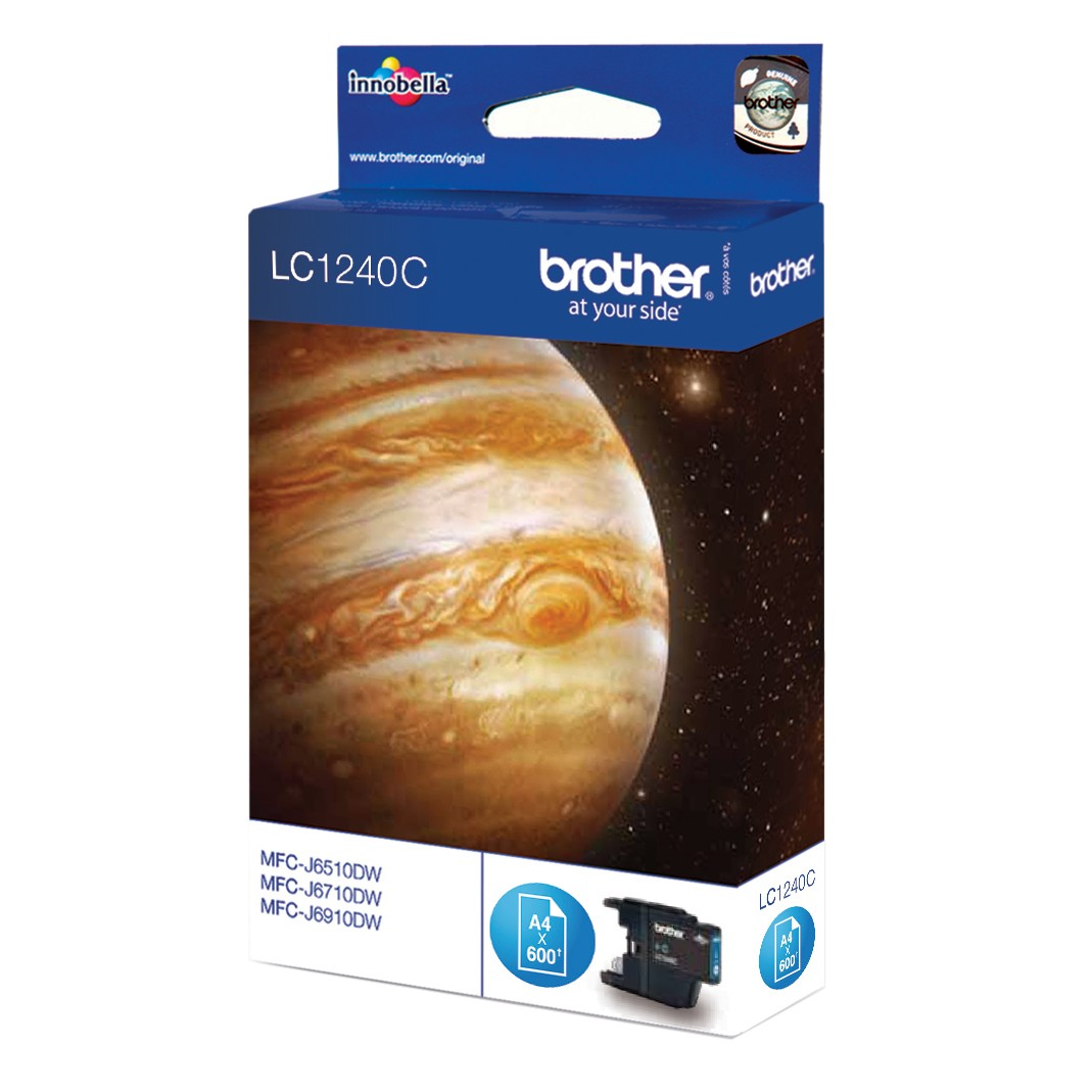 Brother LC1240 Colour Inkjet Cartridge Cyan