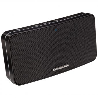 Cambridge Audio Go Portable Bluetooth NFC Speaker Black