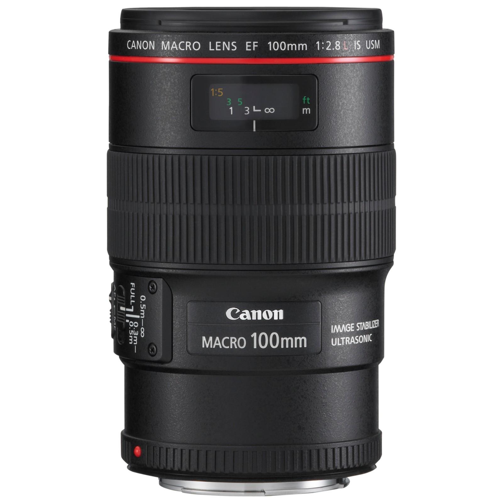Canon EF 100mm f/2.8L IS USM Macro Lens
