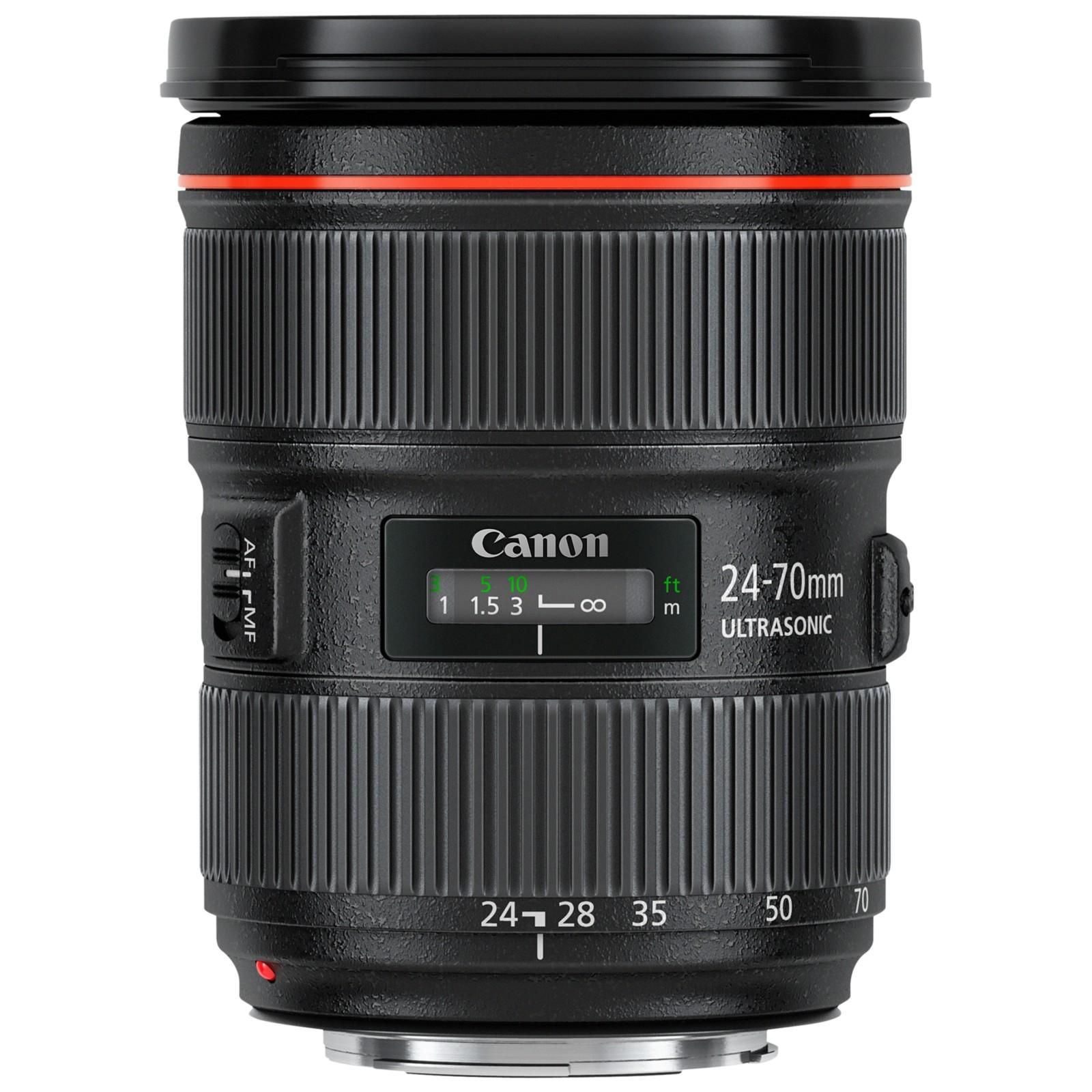Canon EF 24-70mm f/2.8L II USM Telephoto Lens