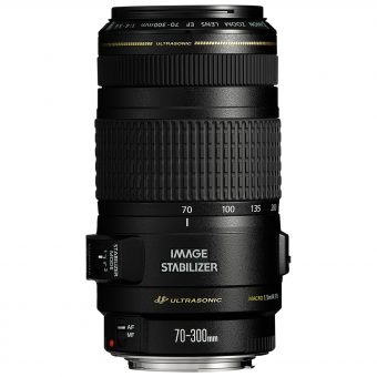Canon EF 70-300mm f/4-5.6 IS USM Telephoto Lens