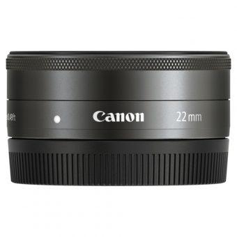 Canon EF-M 22mm f/2 STM Pancake Lens with EF-M Mount