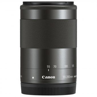 Canon EF-M 55-200mm f/4.5-6.3 Telephoto Zoom IS STM Lens